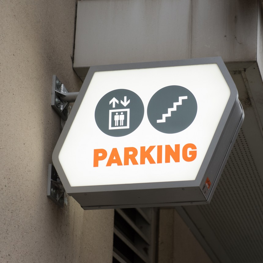 Allied 388 Richmond Parking Structure Signage